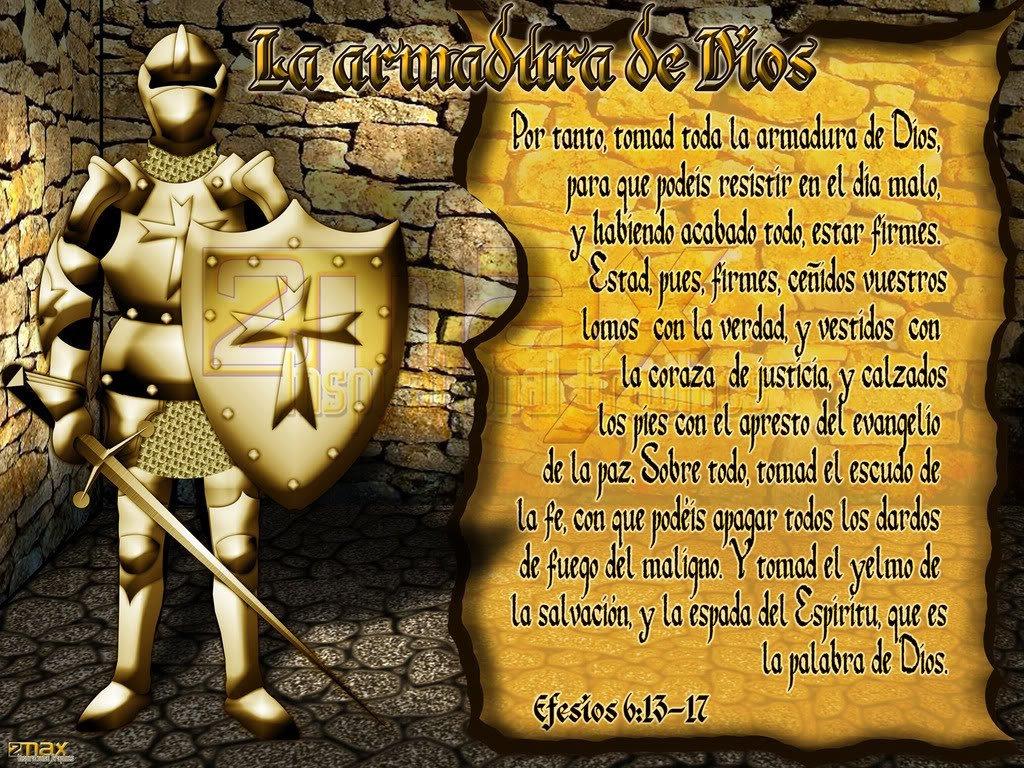 Pasaje de la Armadura de Dios para Guerra Espiritual